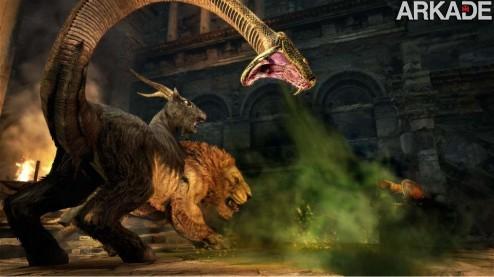Dragon's Dogma: feras gigantes no trailer do novo RPG da Capcom