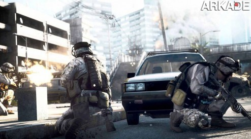 battlefield 3 gameplay1 Battlefield 3: vídeo compara visual das versões PC, PS3 e X360
