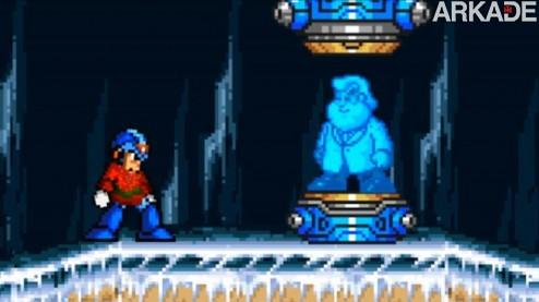 Um presente artesanal, carinhoso (e brega) de Dr. Light para Mega Man