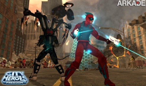 City of Heroes: MMO de super-heróis e vilões agora é free-to-play