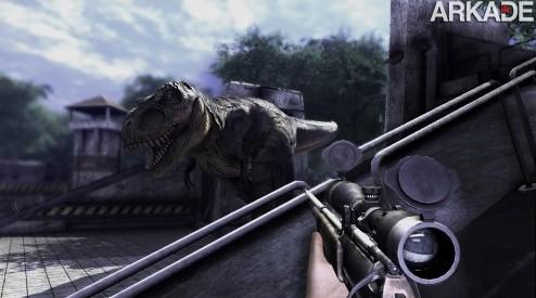Saudades de Turok? Seja dinossauro ou humano em Primal Carnage!