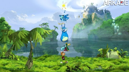 ro e3 2011 071 Rayman Origins: visual e gameplay caprichados em novo trailer do game