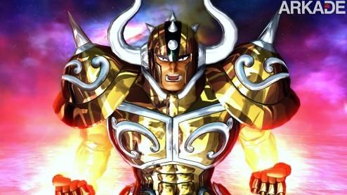 Cavaleiros do Zodíaco: trailer traz gameplay de 13 personagens!