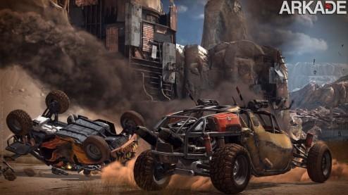 Rage (PC, PS3, X360) review: tiros e buggies em um belo fim do mundo