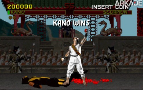 Kano Fatality pic1 Mortal Kombat celebra 19 anos! Relembre o clássico primeiro game!