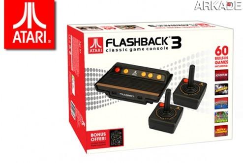 Flashback 3, uma versão retrô-moderna do clássico Atari 2600!