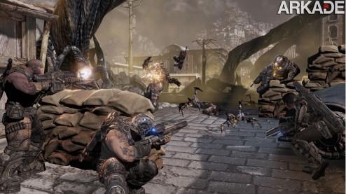 Gears of War 3 (X360) review: um desfecho épico para a série