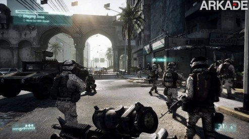 FaultLineEp1 1080p 101 Battlefield 3 (PC, PS3, X360) review: uma bela guerra hiperrealista