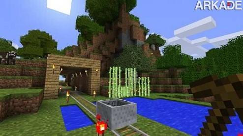 Produtores empolgados no primeiro trailer de Minecraft para Xbox 360