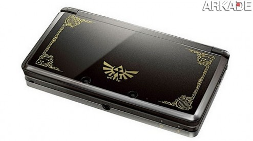 Nintendo 3DS terá versões customizadas de Zelda e Mario