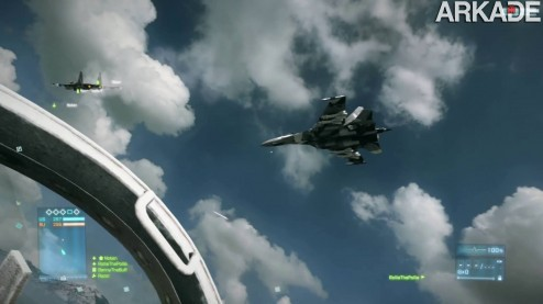 battlefield 3 jet combat 41 Battlefield 3 (PC, PS3, X360) review: uma bela guerra hiperrealista