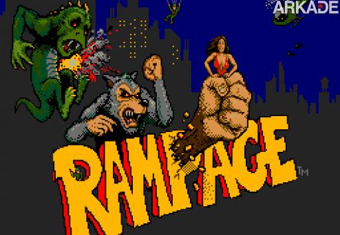 Rampage e seus monstros gigantes devem ir para os cinemas