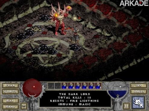diablo i 31 Diablo completa 15 anos! Relembre o clássico primeiro game da série!