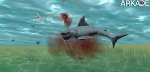 jaws 3DS Jaws Ultimate Predator: o tubarão dos cinemas, agora nos games
