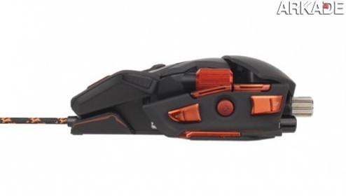 Mad Catz anuncia o Cyborg MMO 7, o mouse definitivo para gamers