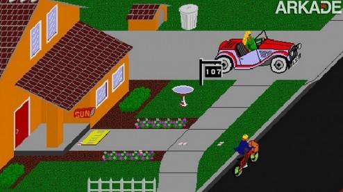 Clássicos: Paperboy (arcade) a árdua missão de entregar jornais