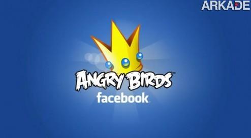 angry birds facebook Adeus vida! Angry Birds será lançado para Facebook em breve!