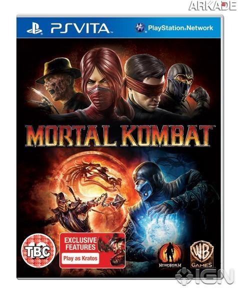 mortal kombat 201201170653253441 PS Vita receberá Mortal Kombat 9 kompleto e com extras exclusivos