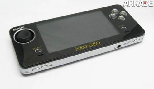 A volta do Neo-Geo: vazam imagens de um novo portátil da SNK