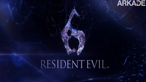 resident evil 61 RESIDENT EVIL 6: veja agora o primeiro trailer oficial do game!
