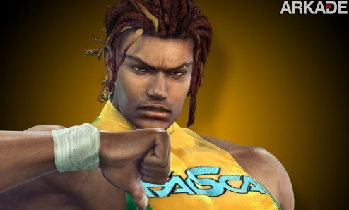 Eddy desk1 Personagem   Eddy Gordo, o capoeirista brasileiro de Tekken