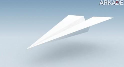 Quebrado o recorde mundial de arremesso de aviãozinho de papel!