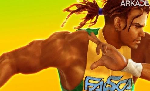 eddy gordo1 Personagem   Eddy Gordo, o capoeirista brasileiro de Tekken