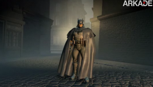 gothambygaslight1 Veja o gameplay do jogo cancelado do Batman para PS3 e X360