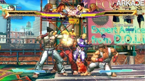Street Fighter X Tekken Screenshot 61 Street Fighter X Tekken (PC, PS3, X360) review: um crossover de respeito