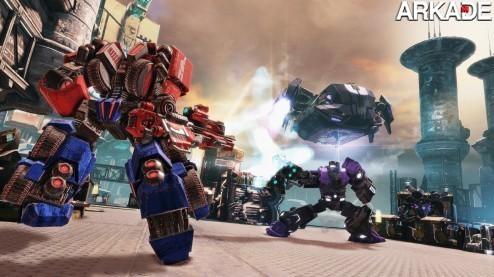 Transformers: Fall of Cybertron ganha novo trailer repleto de ação
