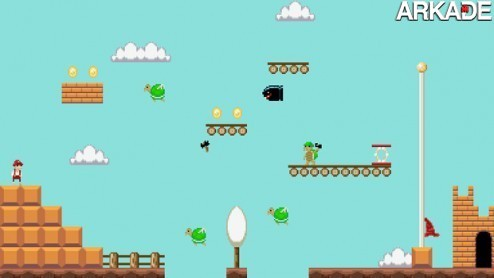 Super Mario Summary: a essência do clássico em mini fases de uma tela só
