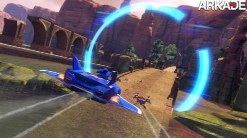 Sonic & All-Stars Racing Transformed: trailer revela carros mutantes