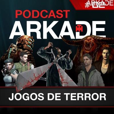 ArkadeCast #02: Jogos de terror: Agulhas no olho e o anão jardineiro