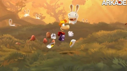 Rayman Legends1 Rayman Legends: trailer mostra belo visual e recursos para Wii U