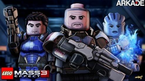 Lego + Mass Effect: uma mistura inusitada em uma bela imagem
