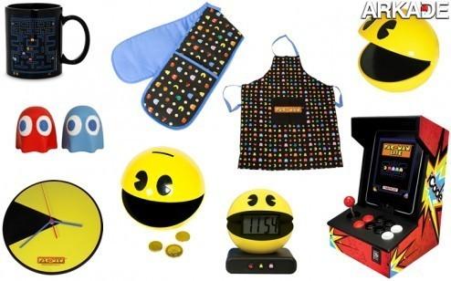 Pac Man Products Pac Man completa 32 anos! Relembre este clássico com a gente!