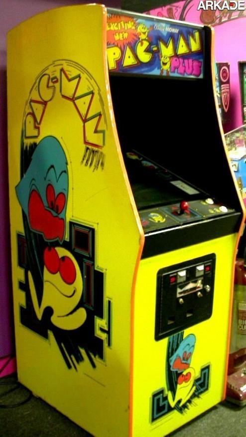 PacMan Plus 0038 Pac Man completa 32 anos! Relembre este clássico com a gente!
