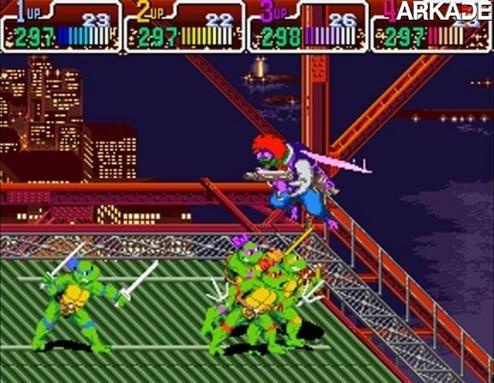 Clássicos - Teenage Mutant Ninja Turtles IV: Turtles in Time (arcade)