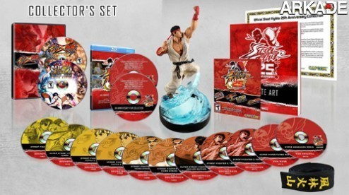 Capcom celebra os 25 anos de Street Fighter com kit especial