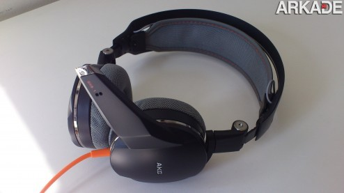 DSC 0748 Análise de hardware: Headphone Gamer Harman AKG GHS1
