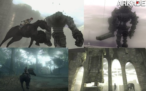 Painel Shadow of the Colossus Voice Chat Arkade: como os videogames nos contam histórias