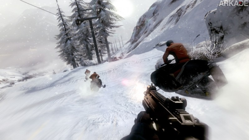 007 Legends Snowmobile Chase On Her Majestys Secret Service1 007 Legends: novo trailer apresenta a segunda missão do game