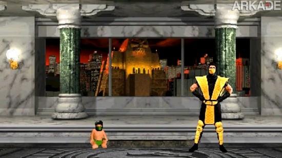 Pense bem antes de aplicar um Babality em Mortal Kombat!