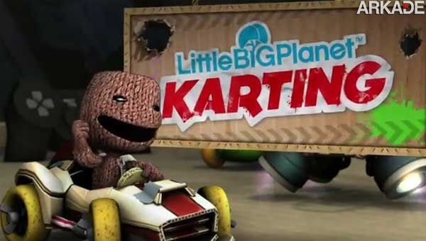 1340824214titre1 Veja os primeiros vídeos de gameplay de LittleBigPlanet Karting