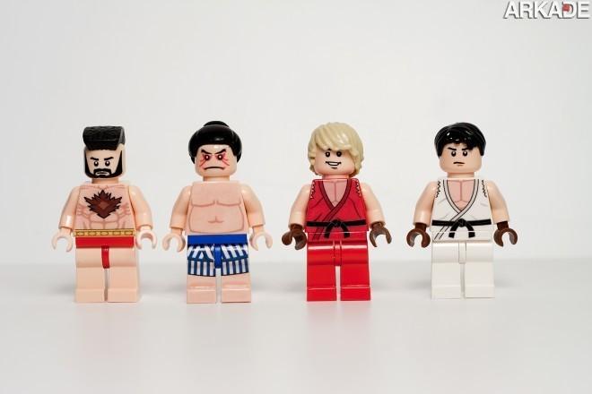 5409455378 86d5b55253 o1 Da série #euquero: lutadores de Street Fighter feitos de Lego
