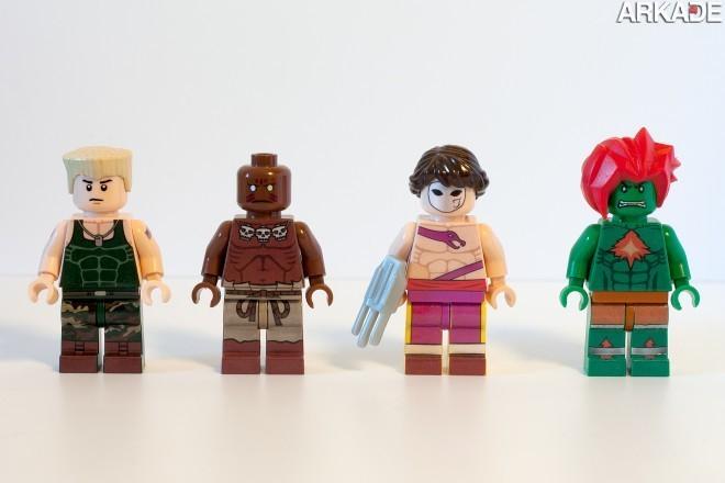 5874895002 f6aab21953 o1 Da série #euquero: lutadores de Street Fighter feitos de Lego