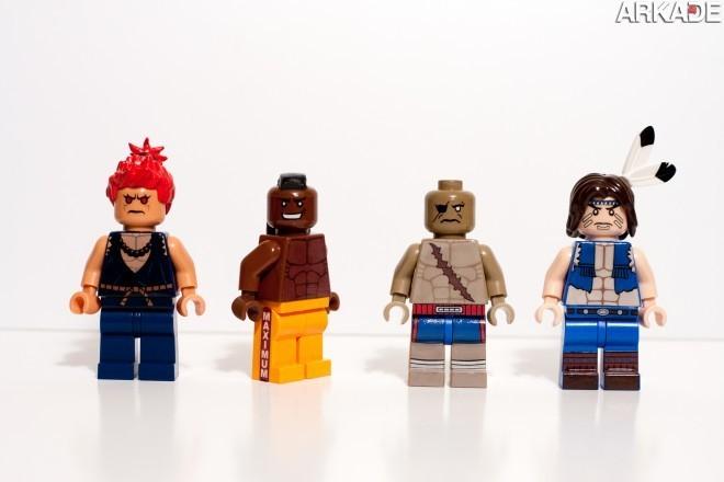 7634636730 52387c2951 o1 Da série #euquero: lutadores de Street Fighter feitos de Lego