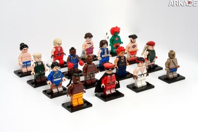 7634636958 a98b77e19c o1 Da série #euquero: lutadores de Street Fighter feitos de Lego
