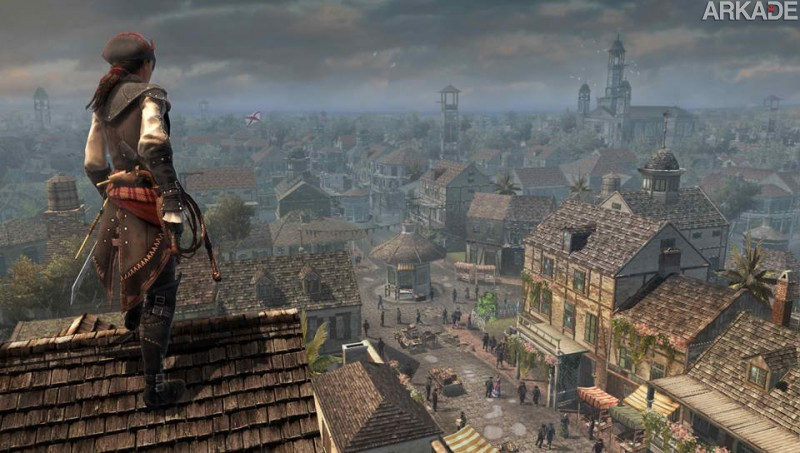 ACIII liberation 041 Confira o novo trailer de Assassins Creed III: Liberation