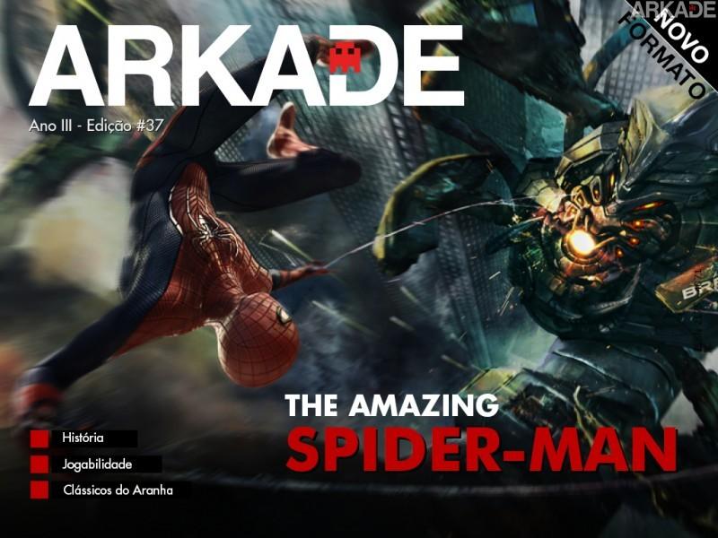 Capa37Spider Em breve: Revista Arkade versão 2.0   HTML5, novo formato e outras novidades